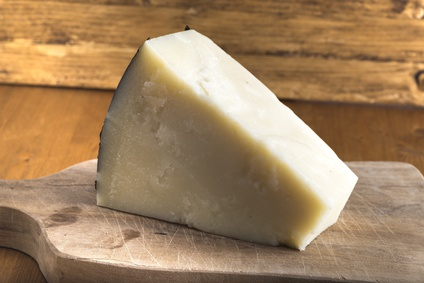 pecorino romano cheese made from sheep's milk, Italian typical product
